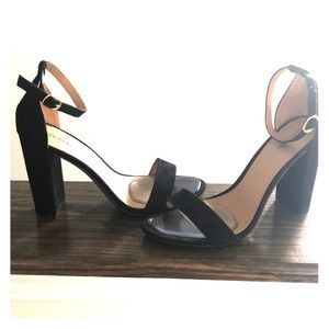 Merona heels black